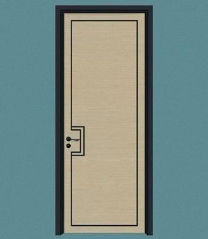 郑州实木烤漆门外扣线时间久了会开裂吗?