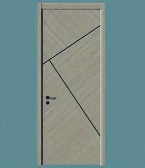 室内实木烤漆门